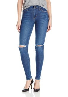 James Jeans Women's Twiggy Mid-Rise Legging Jean with Knee Slits