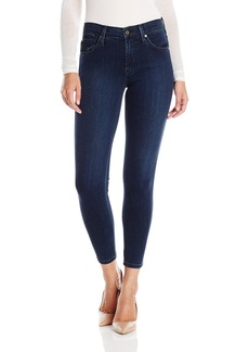 James Jeans Women's Twiggy Zipper Ankle Length Jean