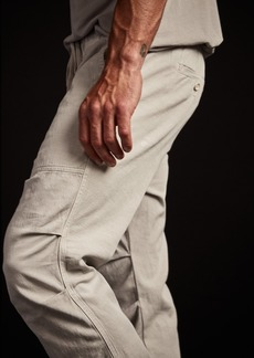 James Perse Army Cotton Slub Utility Pant - Salt Pigment