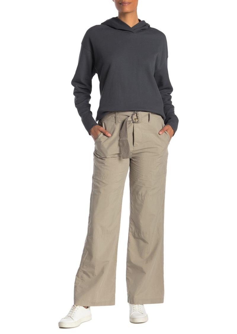 James Perse Belted High Waist Poplin Field Pants