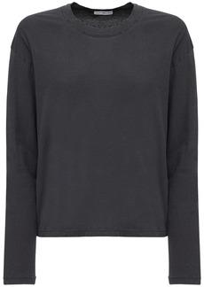 James Perse Boxy Light Cotton Jersey T-shirt