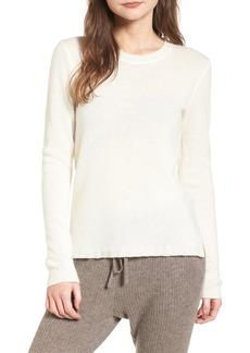 James Perse Cashmere Crewneck Sweater