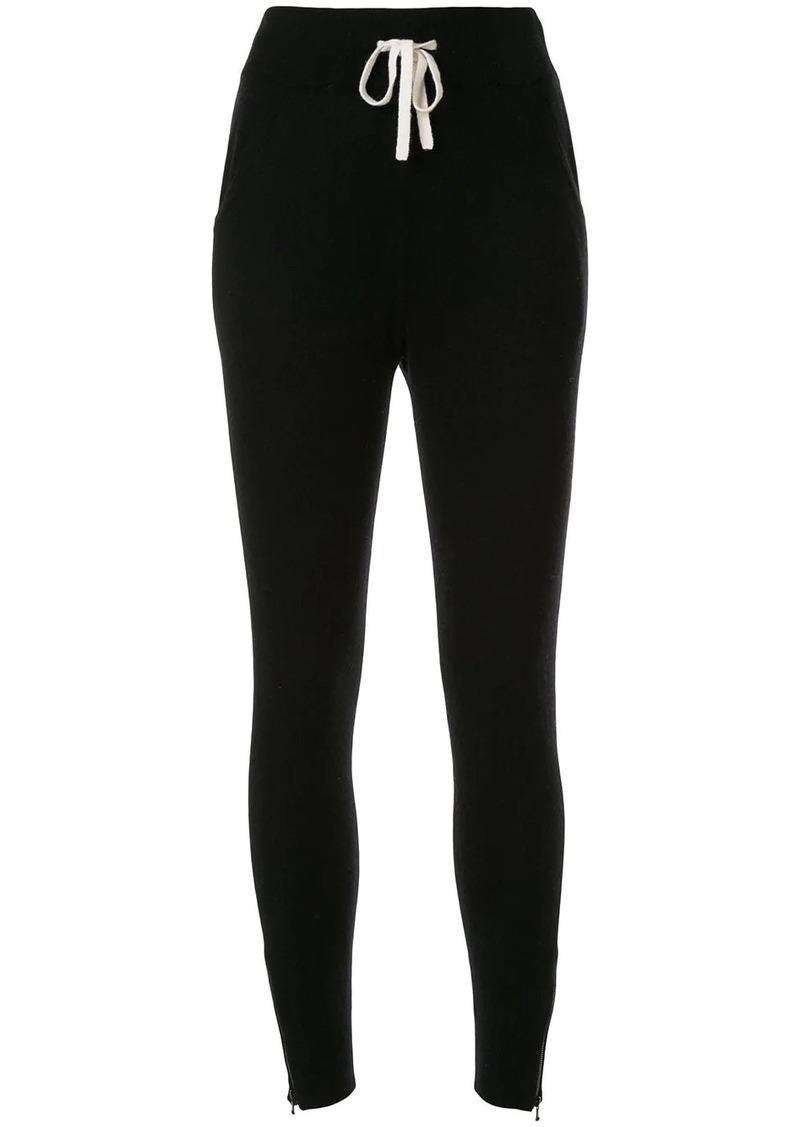 James Perse cashmere zip sweatpants