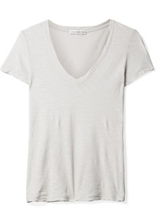 James Perse Casual Slub Supima Cotton-jersey T-shirt
