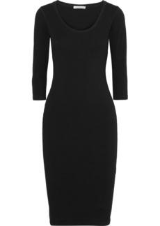 James Perse Cotton-blend Jersey Dress