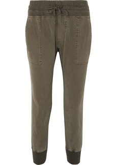 James Perse Cotton-jersey Track Pants