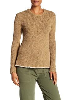 James Perse Cotton Linen Crew Sweater