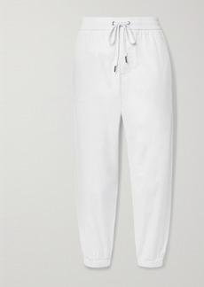 James Perse Crinkled Cotton-poplin Track Pants