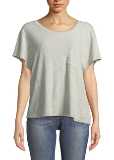 James Perse Cropped Boxy Tee