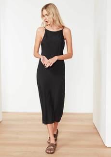 James Perse Cupro Cami Dress - Black