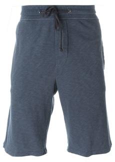 James Perse drawstring track shorts