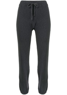 James Perse drawstring waist track pants