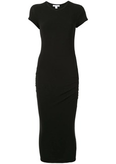 James Perse fitted crew-neck T-shirt dress