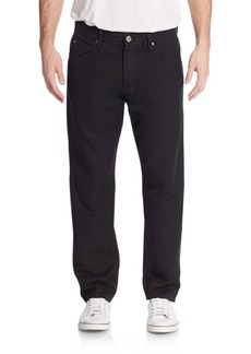 James Perse Five-Pocket Straight-Leg Jeans