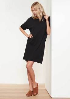 James Perse French Terry Dress - Black