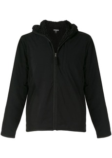 James Perse hooded zip-up jacket