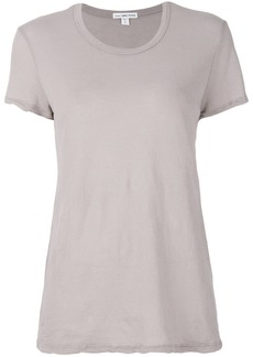 James Perse distressed-detail T-shirt