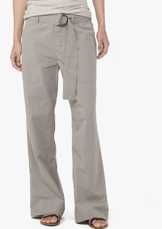 James Perse BELTED POPLIN FIELD PANT