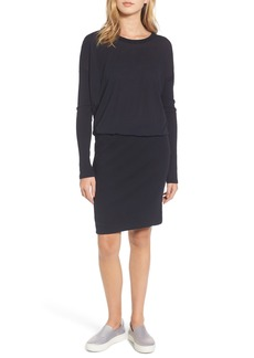 James Perse Blouson T-Shirt Dress