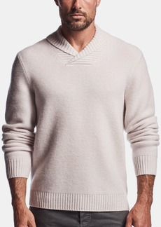 James Perse BOILED CASHMERE PULLOVER SWEATER