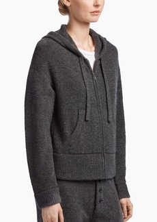 James Perse BRUSHED CASHMERE HOODIE