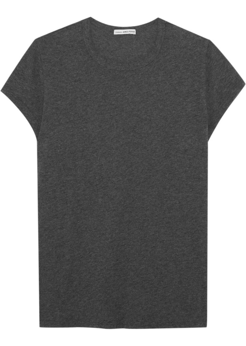 Sale james perse james perse brushed cotton blend jersey for James perse t shirts sale