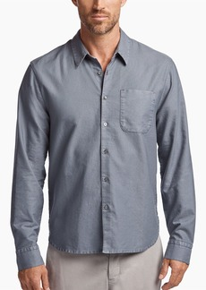 James Perse BRUSHED COTTON RUSTIC SHIRT