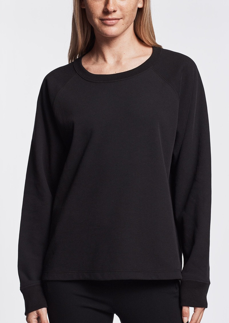 James Perse BRUSHED FLEECE RAGLAN SWEATSHIRT