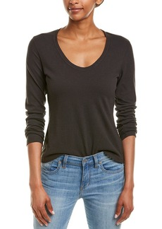 James Perse Brushed Top