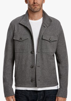 James Perse BRUSHED TWILL BUTTON JACKET