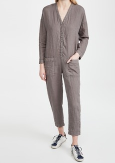 James Perse Canvas Linen Jumpsuit