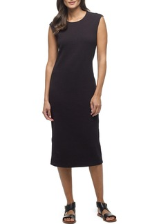 James Perse Cap Sleeve Midi Dress