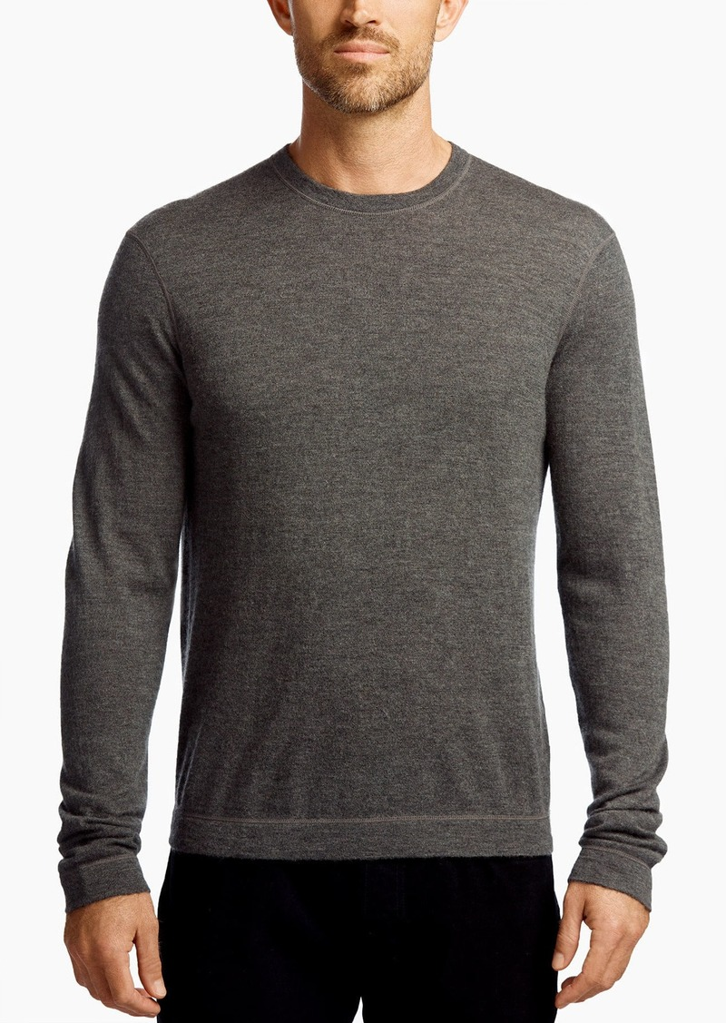 5c1f630eb James Perse James Perse CASHMERE CUT   SEW SWEATER