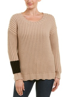 James Perse Chunky Armband Wool-Blend Sweater