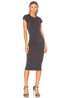 James Perse Classic Skinny Dress in Gray. - size 0 (XXS/XS) (also in 1 (XS/S))
