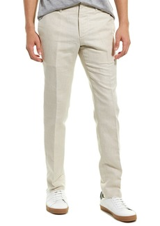 James Perse Clean Canvas Linen-Blend Chino
