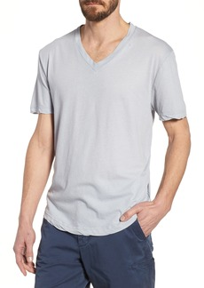 James Perse 'Clear Jersey' Mélange V-Neck T-Shirt