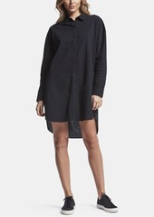 James Perse COLLAGE PINSTRIPE SHIRT DRESS