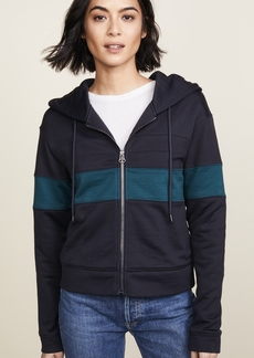 James Perse Colorblocked Hoodie