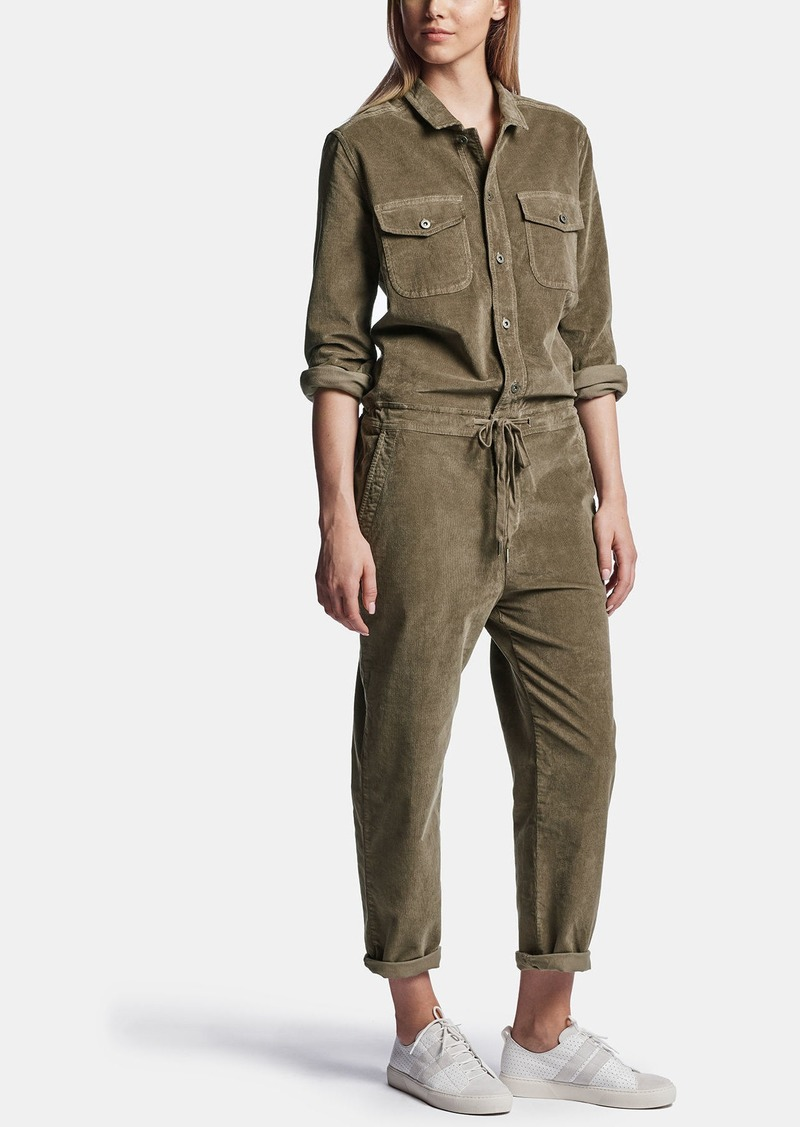 James Perse CORDUROY JUMPSUIT