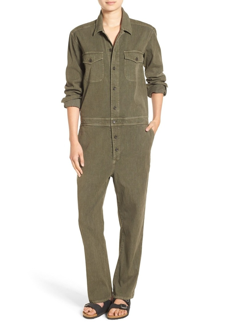 James Perse Cotton & Linen Jumpsuit