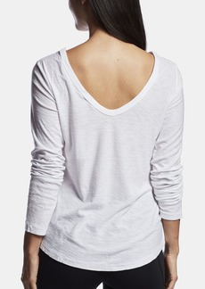 James Perse COTTON CREPE BALLET TEE