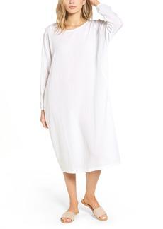 James Perse Cotton Crepe Caftan Dress