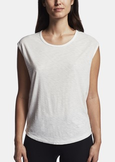 James Perse COTTON CREPE MUSCLE SHIRT