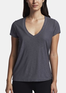 James Perse COTTON CREPE V-NECK