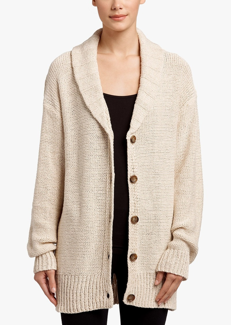 James Perse COTTON LINEN BEACH CARDIGAN