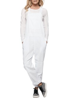 James Perse Cotton Linen Overalls