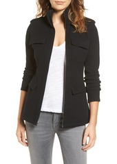 James Perse Cotton Military Jacket