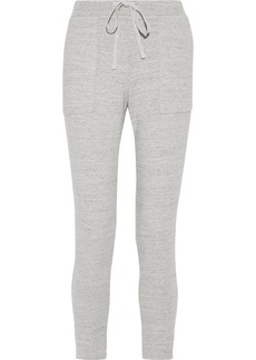 James Perse Cotton-terry track pants