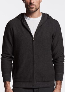 James Perse COTTON THERMAL HOODIE